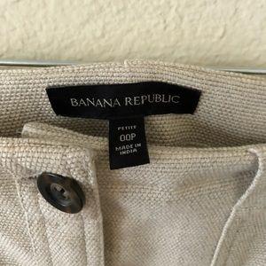 Banana Republic Skirts - Banana Republic Button Up Skirt